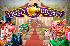 Logo piggy riches netent jeu casino