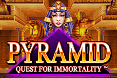 logo pyramid quest for immortality netent jeu casino
