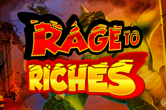 Logo rage to riches playn go jeu casino