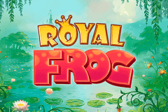 Logo royal frog quickspin jeu casino