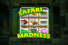 Logo safari madness netent jeu casino