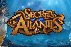 Logo secrets of atlantis netent jeu casino