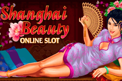 Logo shanghai beauty microgaming jeu casino