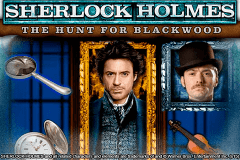 Logo sherlock holmes the hunt for blackwood igt jeu casino