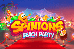 Logo spinions beach party quickspin jeu casino