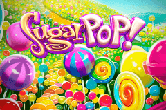 Logo sugar pop betsoft jeu casino