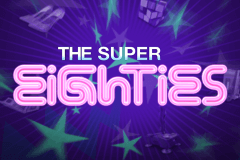 Logo super eighties netent jeu casino
