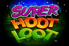 Logo super hoot loot igt jeu casino