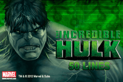 Logo the incredible hulk 50 lines playtech jeu casino