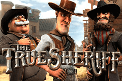 logo the true sheriff betsoft jeu casino