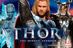 logo thor the mighty avenger playtech jeu casino