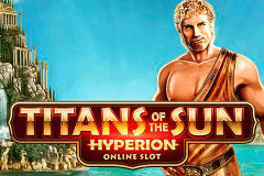 Logo titans of the sun hyperion microgaming jeu casino
