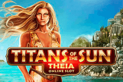 logo titans of the sun theia microgaming jeu casino