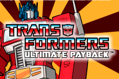 Logo transformers ultimate payback igt jeu casino