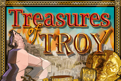logo treasures of troy igt jeu casino