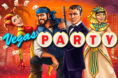 Logo vegas party netent jeu casino
