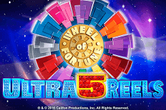 Logo wheel of fortune ultra 5 reels igt jeu casino
