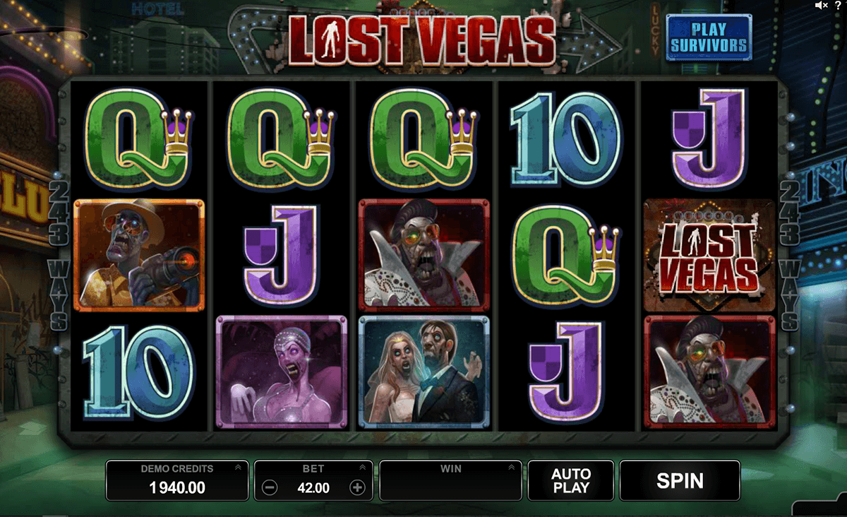 Lost vegas microgaming machine a sous
