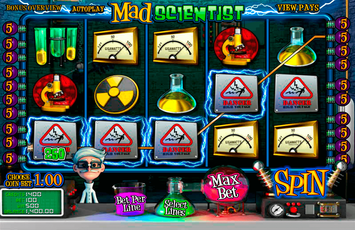 mad scientist betsoft machine a sous