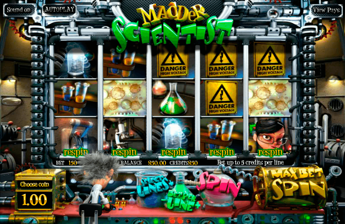 Madder scientist betsoft machine a sous