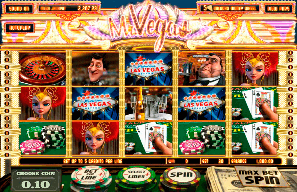 Mr vegas betsoft machine a sous