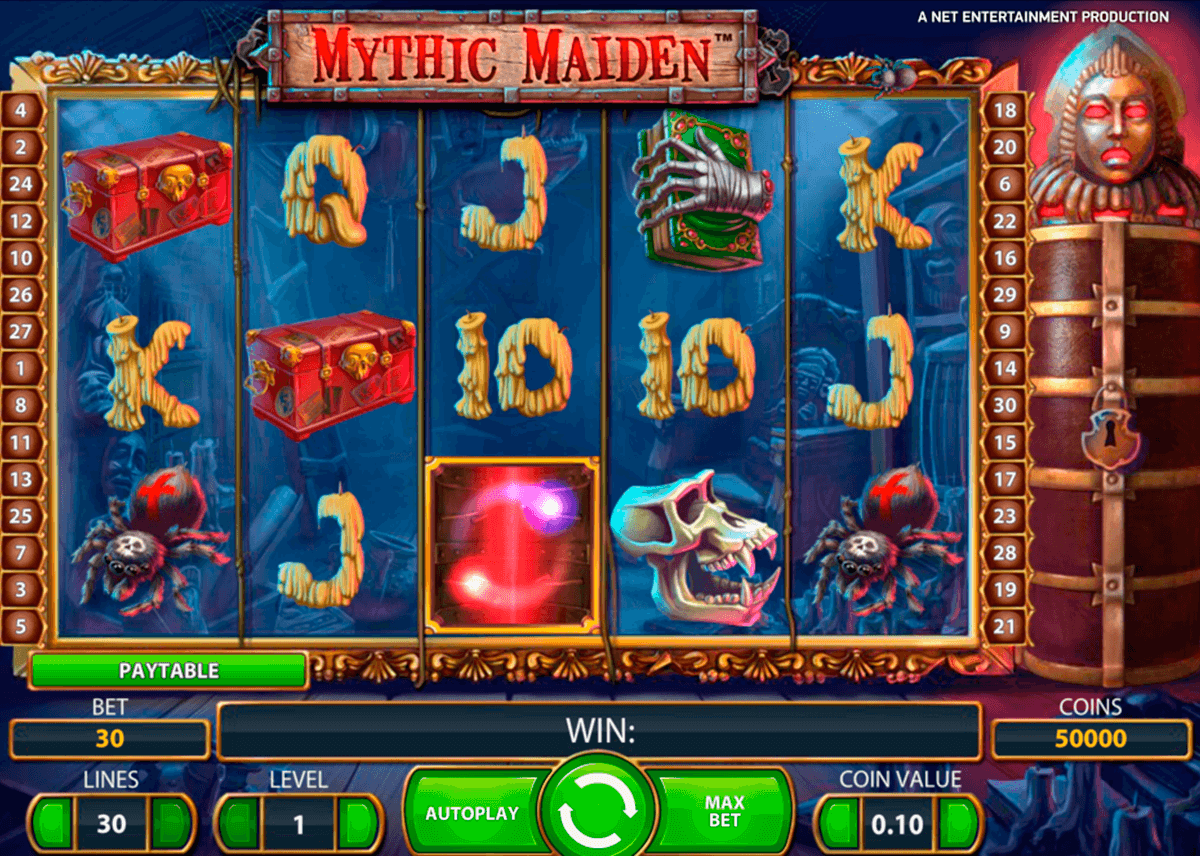 Mythic maiden netent machine a sous