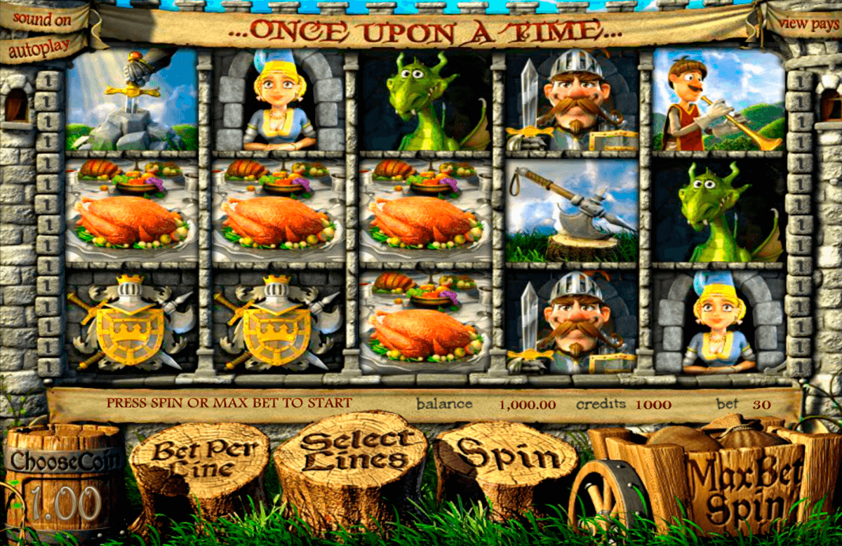 once upon a time betsoft machine a sous