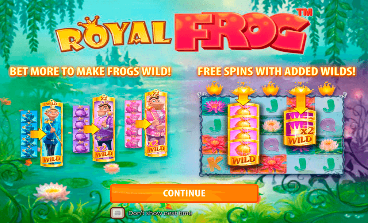 Royal frog quickspin machine a sous