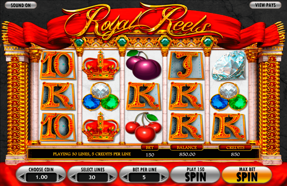 Royal reels betsoft machine a sous