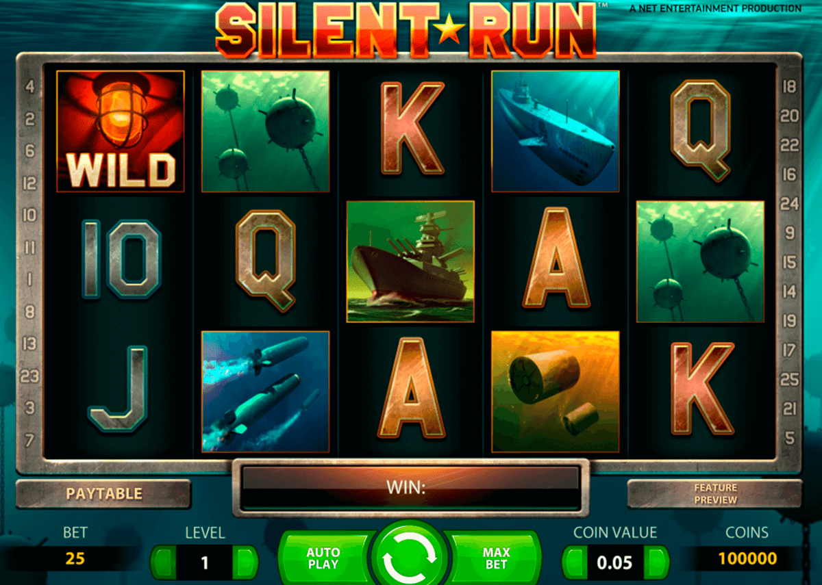 Silent run netent machine a sous