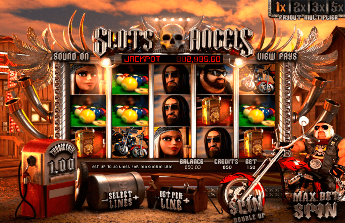 Slotss angels betsoft machine a sous