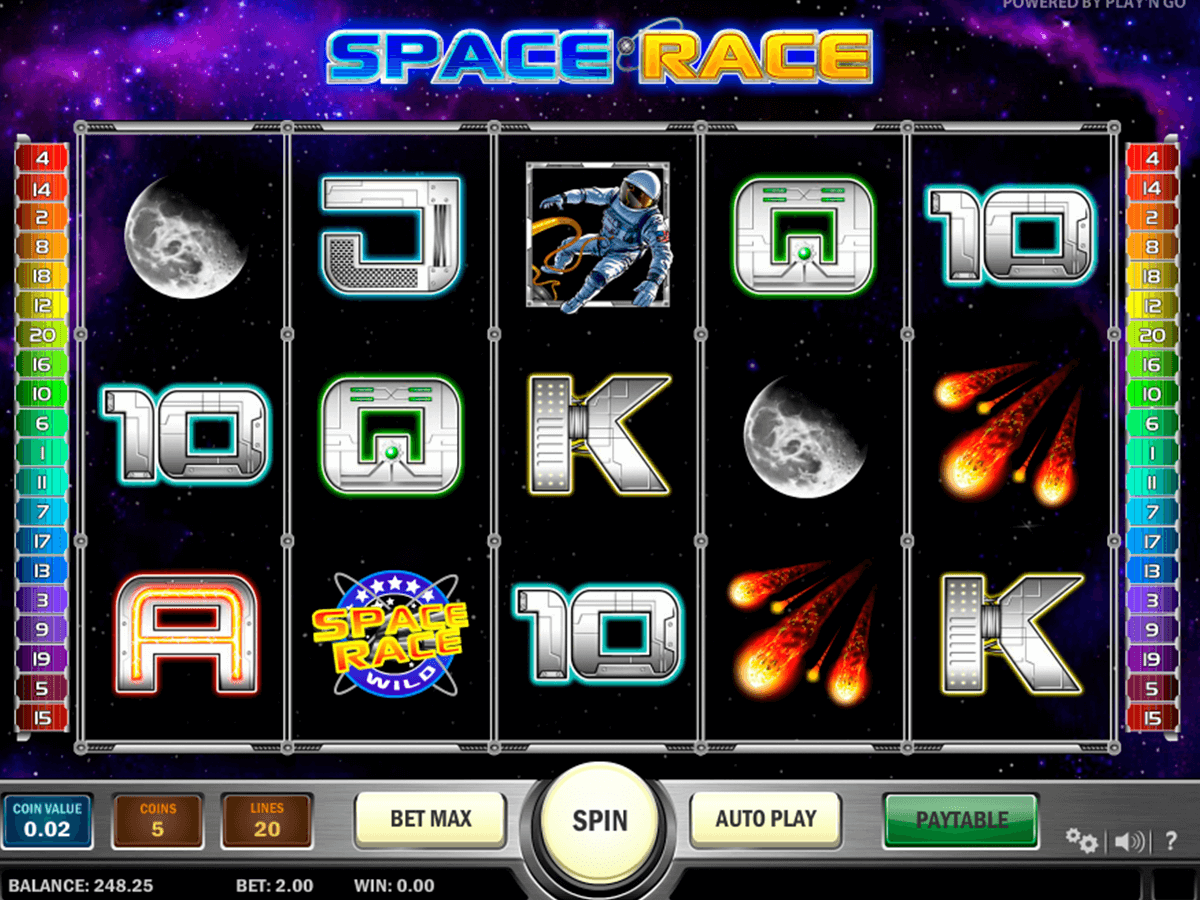 Space race playn go machine a sous