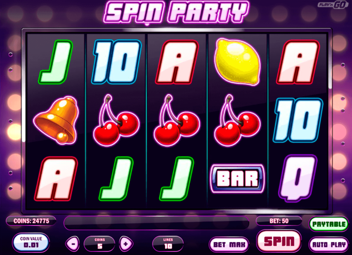 Spin party playn go machine a sous
