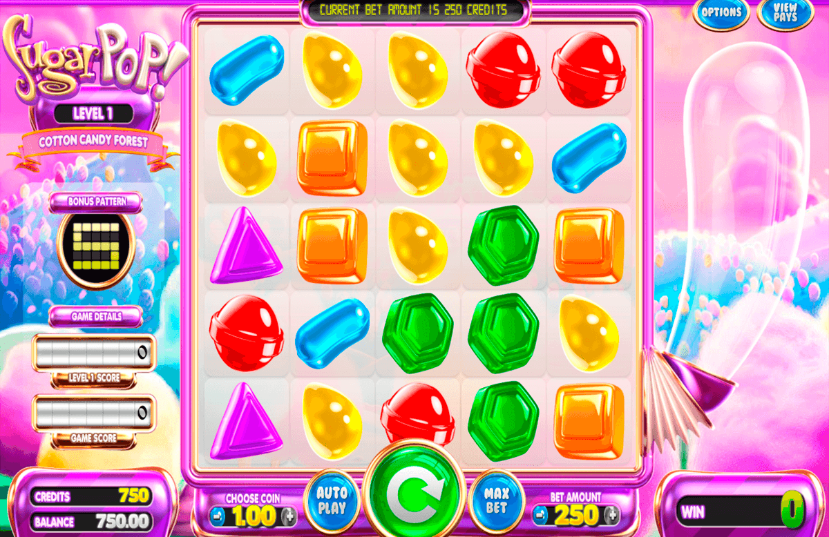 sugar pop betsoft machine a sous