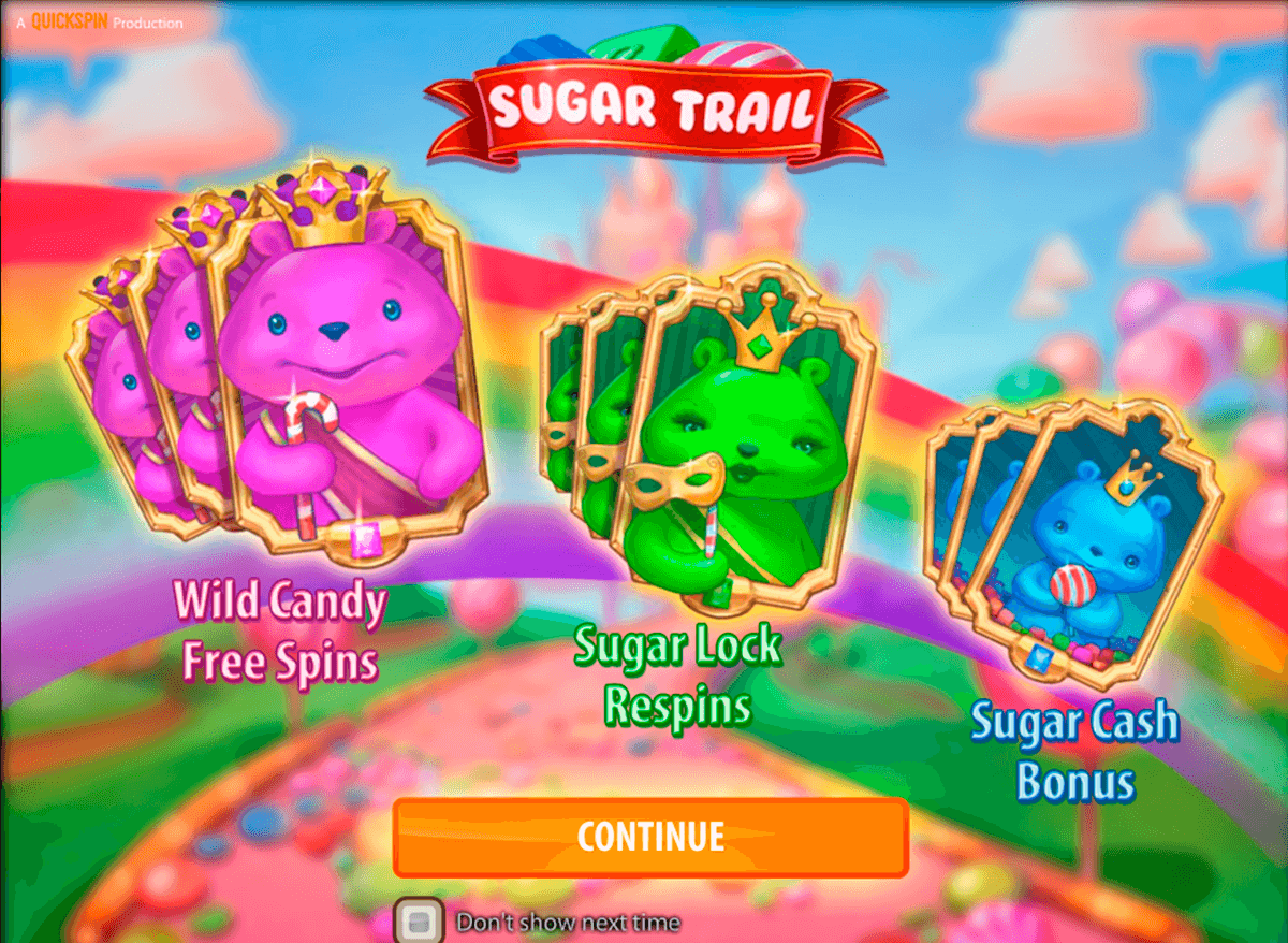 Sugar trail quickspin machine a sous