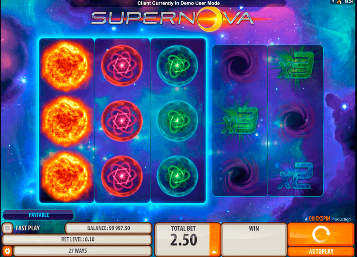 supernova quickspin machine a sous