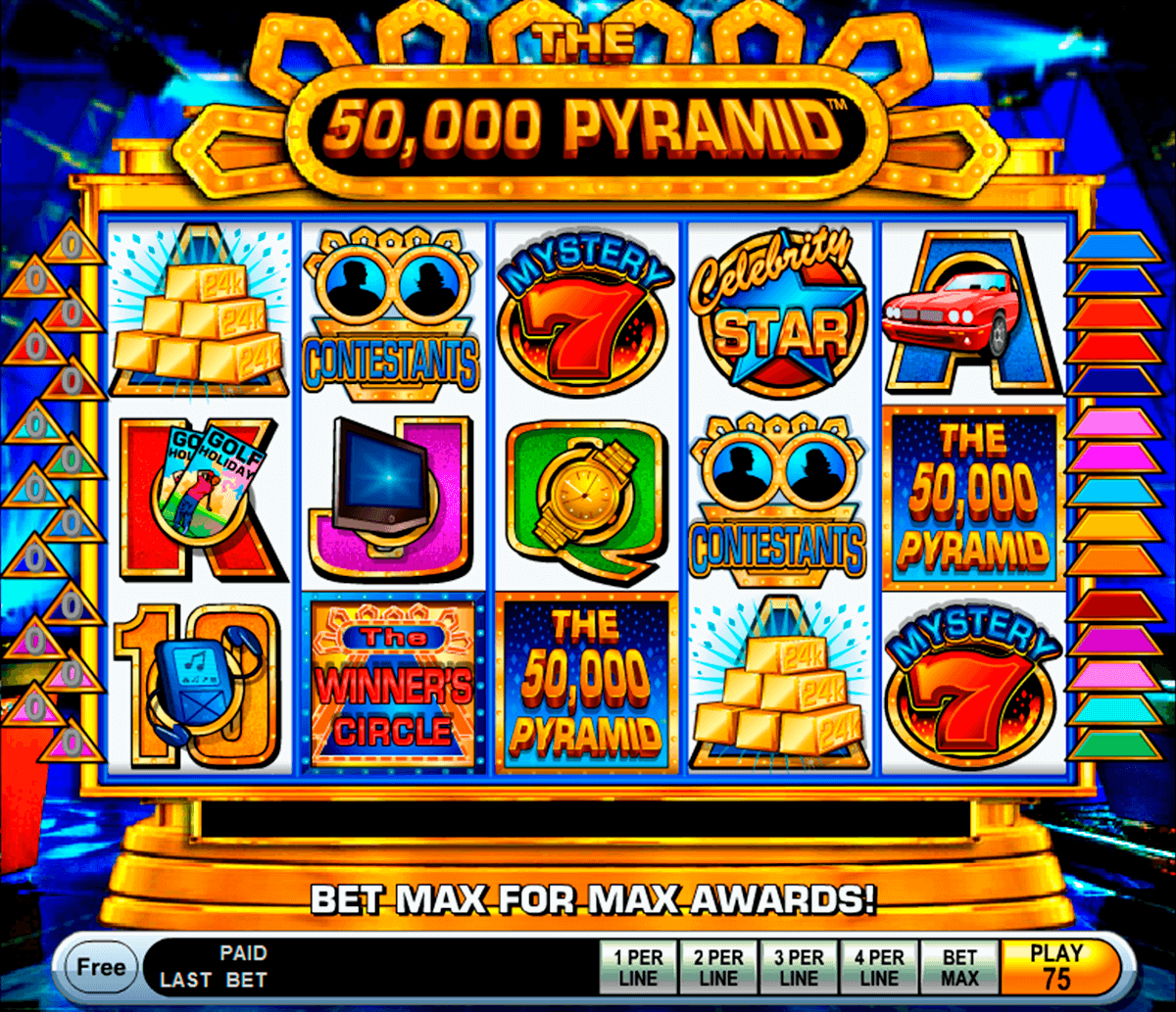 The 50000 pyramid igt machine a sous