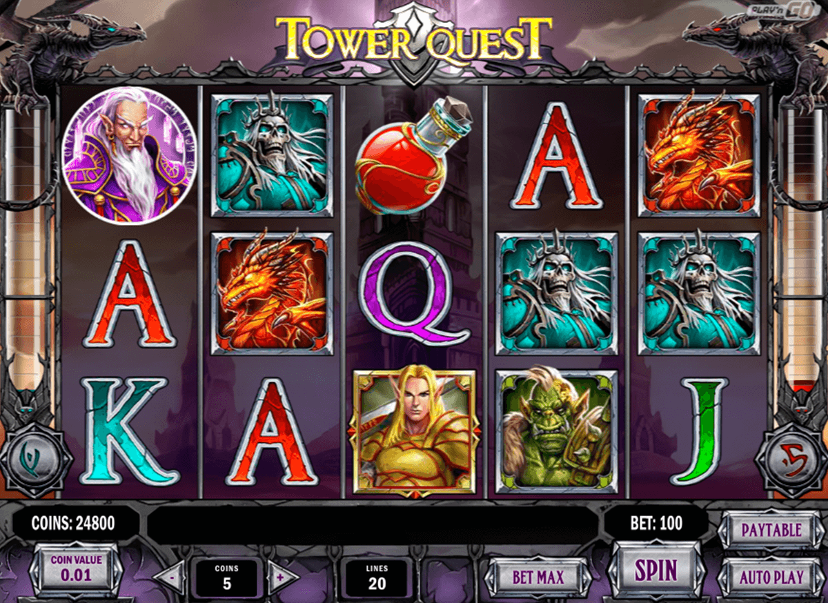 tower quest playn go machine a sous