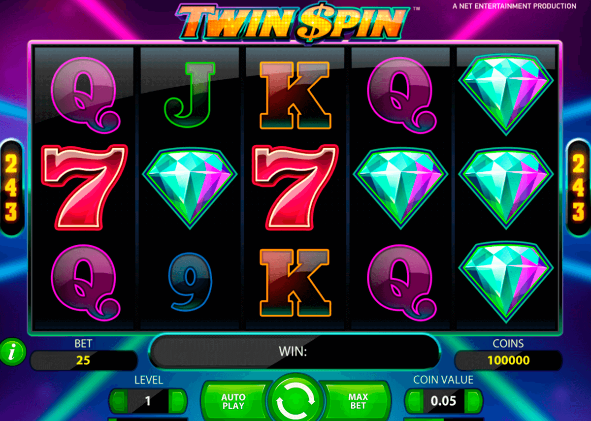 twin spin netent machine a sous