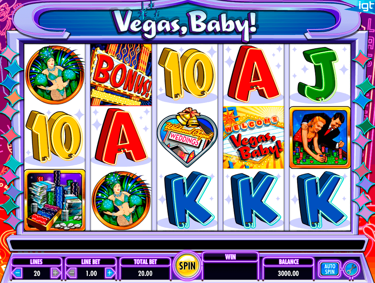 Vegas baby igt machine a sous