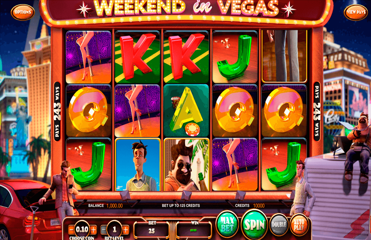 weekend in vegas betsoft machine a sous