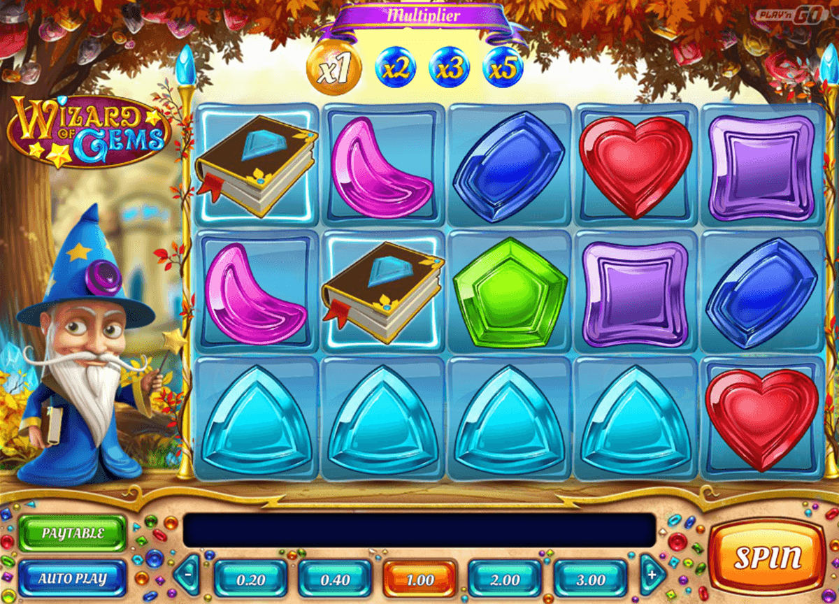 Wizard of gems playn go machine a sous